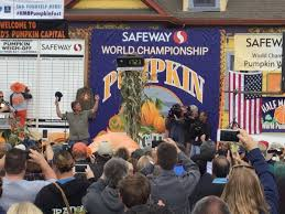 Half Moon Bay Pumpkin Festival Biggest Pumpkin by Half Moon Bay Pumpkin Contest Winner Kron4 Com