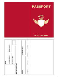10 Passport Templates