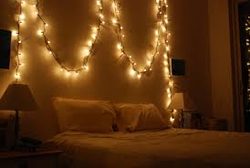 Decorating Bedroom With Christmas Lights Ideas In