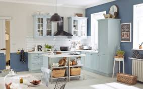 meuble cuisine leroy merlin blanc decoration cuisine bleu et jaune