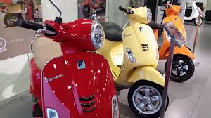 Vespa All New Colors And Models