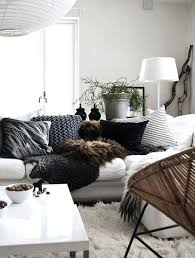 plaid noir canapé plaid canape blanc de canapac noir gris zig zag house fair