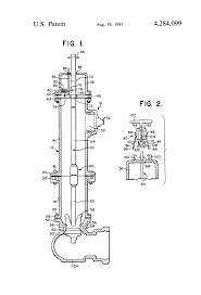 Frost Proof Faucet Stem by Patent Us4284099 Frost Proof Fire Hydrant Google Patents