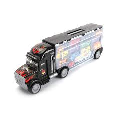 100 Semi Truck Toy Amazoncom WisHome 2Sided Transport Car Carrier
