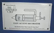 Pampered Chef Easy Accent Decorator by Pampered Chef Easy Accent Decorator 6 Decorating Tips Recipes