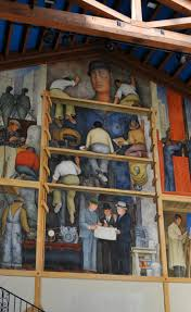 Coit Tower Murals Prints by 123 Best San Francisco Street Art Images On Pinterest Francisco