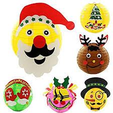 Generic Creative DIY Handmade Christmas Lantern Kids Handwork Craft Home Decoration Early Educational Toys Party