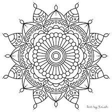 Classy Idea Adult Mandala Coloring Pages Best 20 Ideas On Pinterest