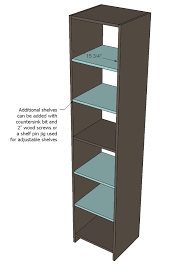 Free Closet Organizer Plans by Ana White Closet Organizer From One Sheet Of Plywood Diy Projects