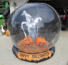 Gemmy Inflatables Halloween by Giant Gemmy Halloween Airblown Inflatable Whirlwind Globe With