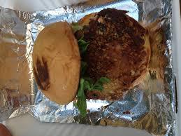 Maryland Style Crab Burger!!!