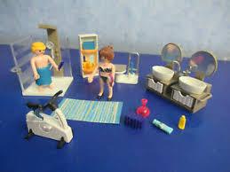 details zu modernes bad badezimmer figuren möbel zu 5574 9266 luxus villa playmobil 3557