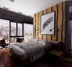 hausdesign rustikales schlafzimmer rustikal modern design