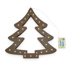 Qvc Christmas Tree With Remote by Home Reflections Hanging Wooden Led Decor Qvc Uk