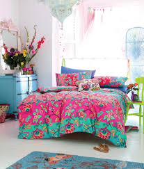 bright bohemian style in bedroom sassy and sophisticated