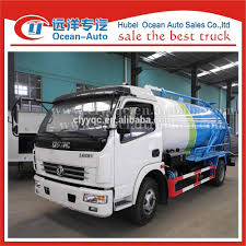 Dongfeng 4x2 Cesspool Trucks,New Sewage Truck For Sale In Dubai With ...