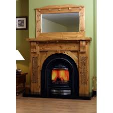 Rustic Electric Fireplace Style