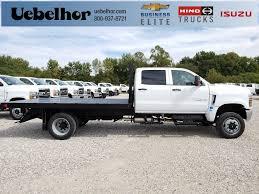 100 Medium Duty Trucks For Sale 2019 Silverado Crew Cab DRW 4x4 Monroe WorkAHauler II Platform Body Stock ZT6061