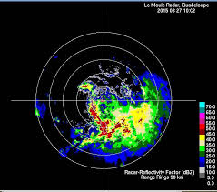 le moule weather radar observations of tropical storm erika 27