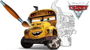 Miss Fritter CARS 3 - Coloring Book Pages Video For Kids Episode 39 ...