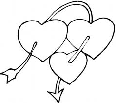Heart Coloring Pages 3