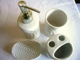 badezimmer keramik set seifenspender seifenschale vase usw