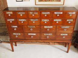 Chest Drawers Victorian Apothecary Chemist Mahogany Chest