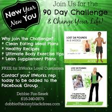 ItWorks 90 Day Challenge New Year You