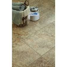 Groutable Vinyl Tile Home Depot by Trafficmaster Ceramica 12 In X 24 In Camel Resilient Vinyl Tile