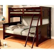 Walnut Twin over Full Bunk Bed Spring Creek
