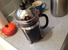 I Get Up At About 6 Or 630 Each Morning The First Thing Do Is Make Coffee Heres My Setup French Press Mugs Thermos Whole Bean