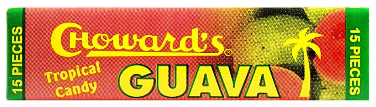 C Howard's Tropical Guava Candy - x15