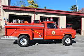 100 1972 Dodge Truck 2410 Power Wagon Brush Seneca Volunteer Fire Dept