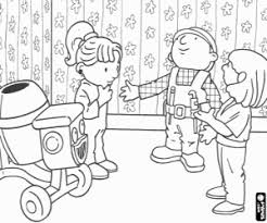 Bob And Wendy In A Reform The Scarecrow Spud Coloring Page
