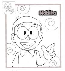 Free Printable Doraemon Coloring Page For Kids