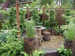 Garden Ideas For Small Vegetable And Its Advantages Rail Fence Stone Wall