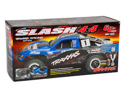 Traxxas Slash 4X4 VXL Brushless 1/10 4WD RTR Short Course Truck (Fox ... Jual Traxxas 680773 Slash 4x4 Ultimate 4wd Short Course Truck W Rc Trucks Best Kits Bodies Tires Motors 110 Scale Lcg Electric Sc10 Associated Tech Forums Kyosho Sc6 Artr Best Of The Full Race Basher Approved Big Squid Car And News Reviews Off Road Classifieds Pro Lite Proline Ford F150 Svt Raptor Shortcourse Body