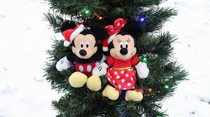 Christmas Tree Fun With Mickey Mouse And Minnie