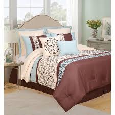Bed Skirts Queen Walmart by Rutherford 8 Piece Bedding Comforter Set Queen Walmart Com