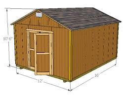 Saltbox Shed Plans 12x16 by Diy Shed Plans And Blueprints Www Mysheddesigns Com Diy