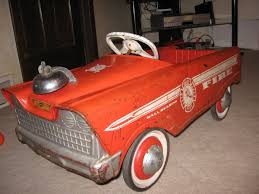 My Fire Truck Pedal Car (a Cherished Childhood Toy) | Collectors Weekly 1960s Murry Fire Truck Pedal Car Buffyscarscom Vintage Volunteer Dept No 1 By Gearbox Syot Deluxe Fire Truck Pedal Car Best Choice Products Ride On Truck Speedster Metal Kids John Deere M15 Nashville 2015 Kalee Toys From Pramcentre Uk Wendy Chidester Engine Pedal Car Pating For Sale At 1stdibs Radio Flyer Fire Dolapmagnetbandco 60sera Blue Moon Vintage Ford Gearbox Superman Awespiring Instep Baghera Red Neiman Marcus