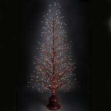 Fiber Optic Christmas Trees by The Color Changing Twinkling Light Tree Hammacher Schlemmer