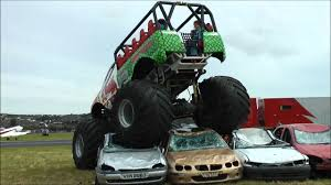 100 Truck Launch Maniac 2 Monster Truck Crushing Cars YouTube