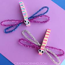 Clothespin Dragonflies Such An Easy Fun Summer Craft For Kids