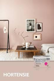 trendfarbe hortensie schöner wohnen wandfarbe schöner