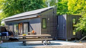 100 Container Houses China Hastings Family In Tiny Offgrid Container House Is Selling Up