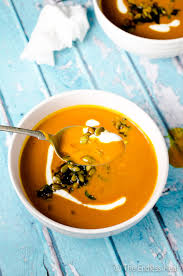 Pumpkin Butternut Squash Soup Vegan by Spicy Harissa Butternut Squash Soup The Endless Meal