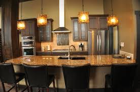 rustic pendant lighting for kitchen lilianduval