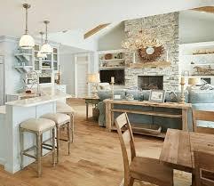 Beach House Kitchen Designs Magnificent Ideas Living Room Open Small Decor