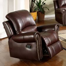 Abbyson Living Broadway Premium Top-grain Leather Reclining ... Barcalounger Phoenix Ii Recliner Chair Leather Abbyson Living Broadway Premium Topgrain Recling Ding Room Light Brown Swivel With Circle Incredible About Remodel Outdoor Comfy Regency Faux Leather Recliner Chair In Black Or Bronze Home Decor Cool Reclinable Combine Plush Armchair Eternity Ez Bedrooms Sofa Red Homelegance Mcgraw Rocker Bonded 98871 New Brown Leather Recliner Armchair Dungannon County Tyrone Amazoncom Lucas Modern Sleek Club Recliners Chairs